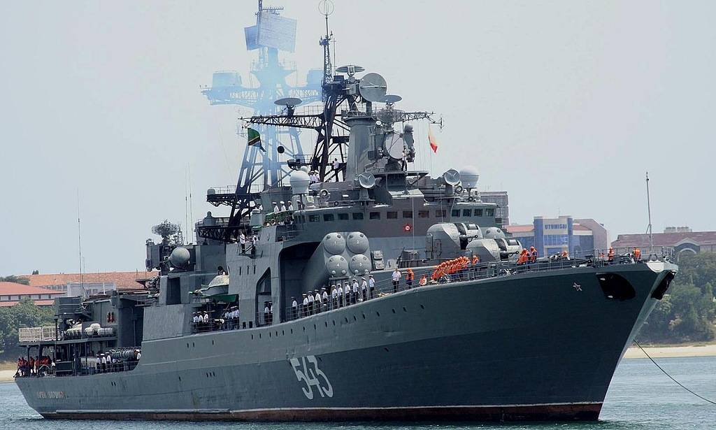 Противолодочный корабль «Маршал Шапошников»