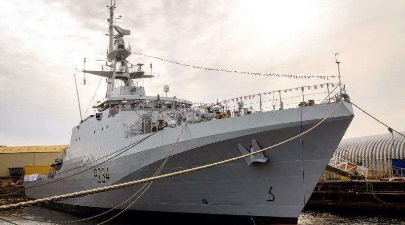 Британский флот получил корабли серии River