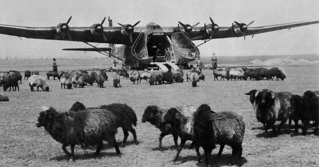 Messerschmitt Me.323 «Gigant» - транспортный самолет
