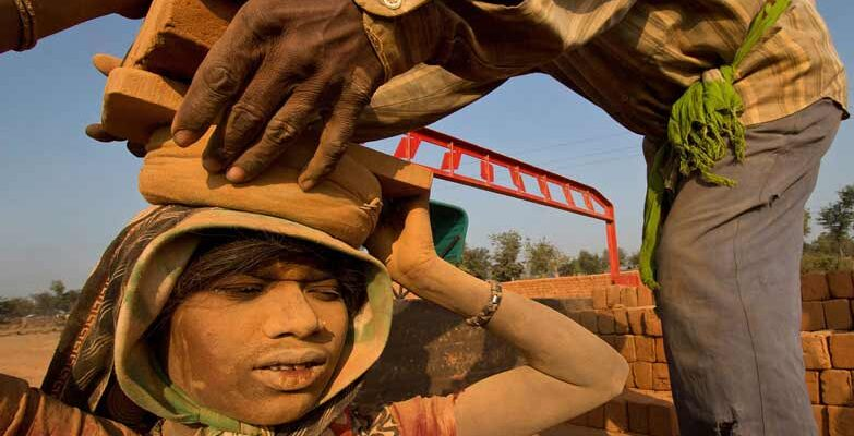 Brick Worker india banner min
