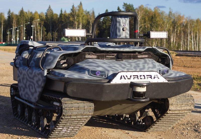 ВДВ получат беспилотного робота Марс A-800