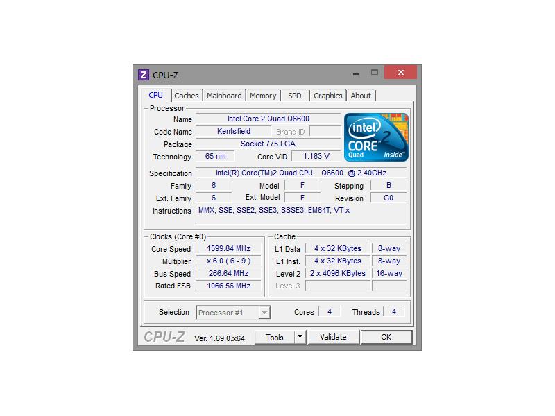 CPU-Z обзор программы