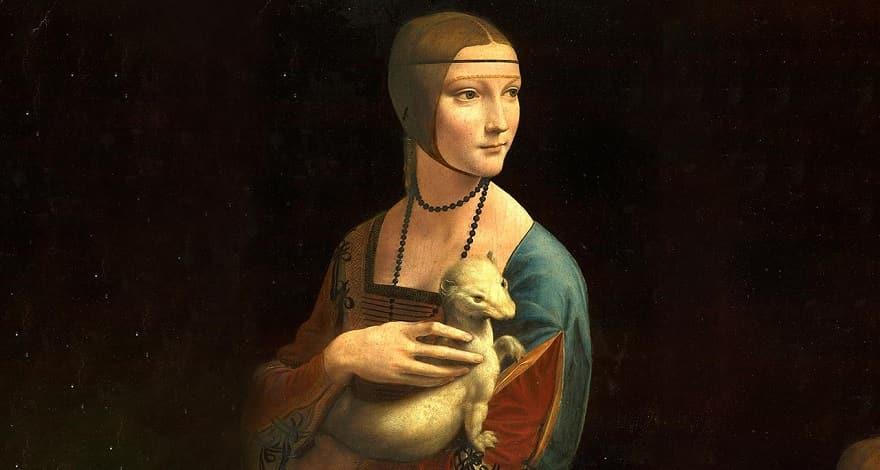 «Дама с горностаем» Леонардо да Винчи история портрета