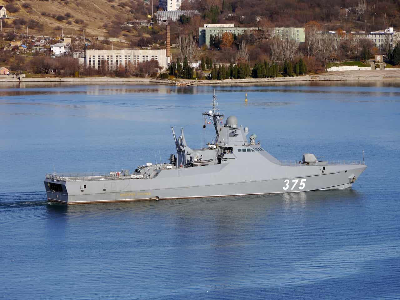 В Черноморский флот войдет патрульный корабль «Дмитрий Рогачев»