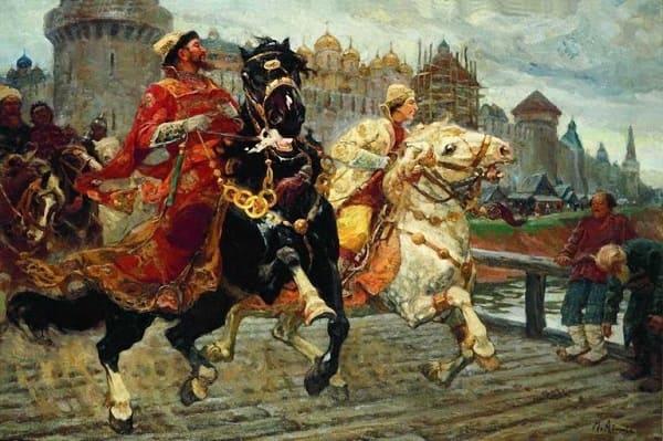 Иван IV Васильевич (Грозный) - биография царя