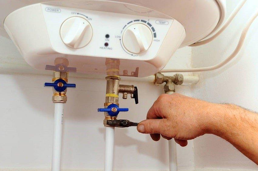 Как зажечь водонагреватель