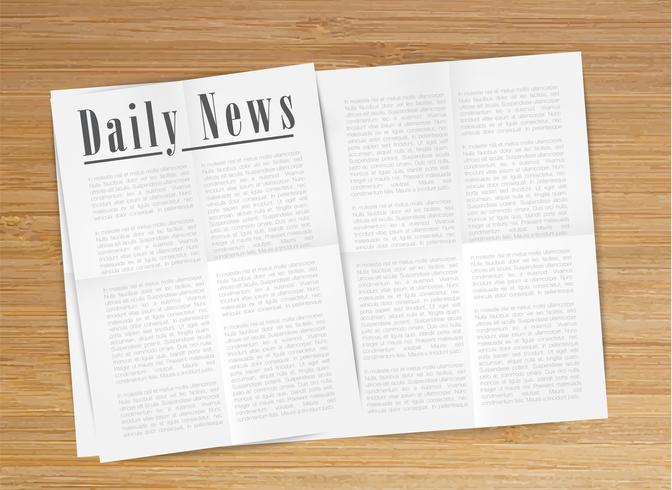 realistic newspaper vector min