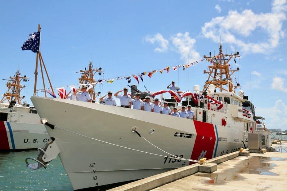 Береговая охрана США получила новый корабль Joseph Doyle