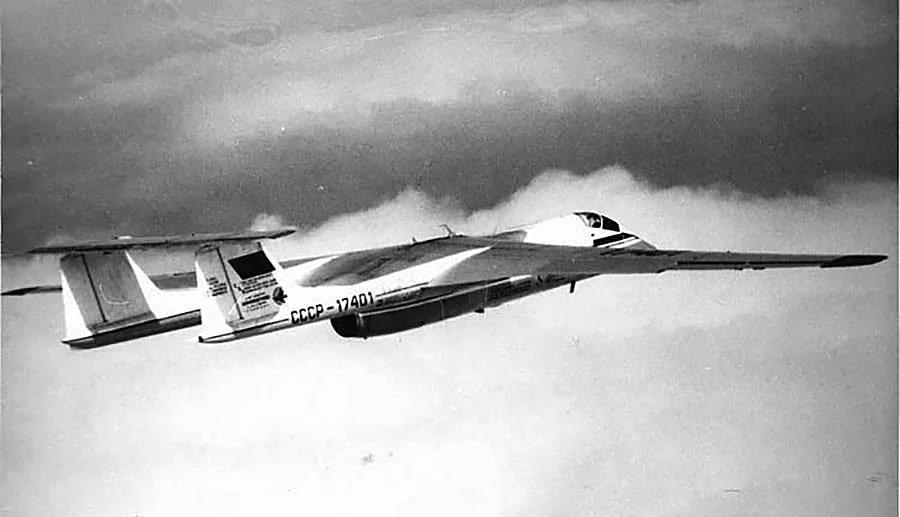 Высотный самолет М-17 «Стратосфера»